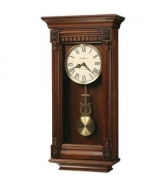 625-474 LEWISBURG HOWARD MILLER WALL CLOCK WITH HARMONIC TRIPLE