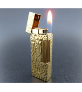 ALFRED Dunhill Rollagas Lighter Gold Plated SWISS MADE [913]