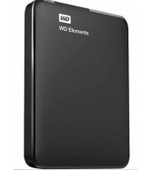 WD - Elements 500GB External USB 3.0/2.0 Portable Hard Drive - B