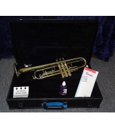 King 601 Trumpet USA New w/ Hardshell Wooden Case
