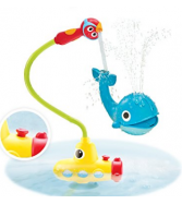Baby Bath Toy - Submarine Spray Whale- Battery Operated Water Pu