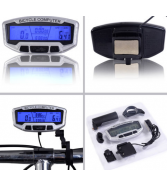 LCD Bicycle Bike Cycling Computer Odometer Speedometer Velometer