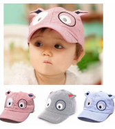 Binmer(TM)Kids Boys Girls Cute Baby Cartoon Dog Beret Hat
