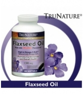 TruNature Organic Flaxseed Oil Promotes Cardiovascular and Overa