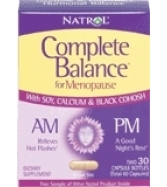 Natrol Complete Balance A.M./P.M. Formula for Menopause, Two, 30