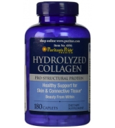 Puritan's Pride Hydrolyzed Collagen 1000 mg-180 Caplets
