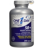 One A Day Men's 50+ Healthy Advantage, 200 Tablets