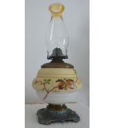 SICOTTE FROG ON LILY PAD FRAGRANCE OIL LAMP BEAUTIFUL