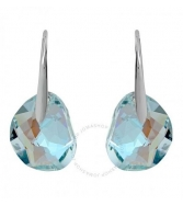 Hoa tai SWAROVSKI Galet Light Azore Blue Crystal Earrings