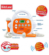 Kids Karaoke Machine MP3 Music Player, with 2 Microphone, Built