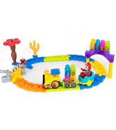 Hatunan Train Track Park Top Selling Game With Light-Up Train To