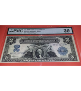 $2 Red Seal Note Two Dollar Bill Federal Reserve Unci