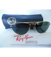 VINTAGE RAY BAN B&L SUNGLASSES GOLD WIRE FRAME AVIATOR