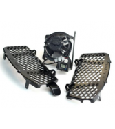 Trail Tech Radiator Fan Cooling Kit W/ Black Braces For KTM 125-