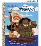 Truyện: Moana Little Golden Book (Disney Moana