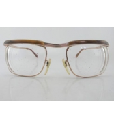Vintage 50s Tortoise BÖHLER River Gold Filled Eyeglasses 50-20