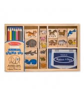 Melissa & Doug Animal Stamp Set